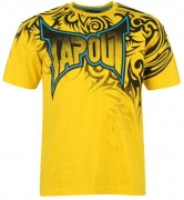 COD. TS-10_T-shirt TAPOUT Tribal gialla